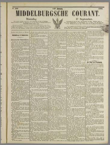 Middelburgsche Courant 1906-09-17