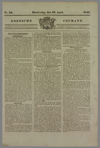Goessche Courant 1842-04-28