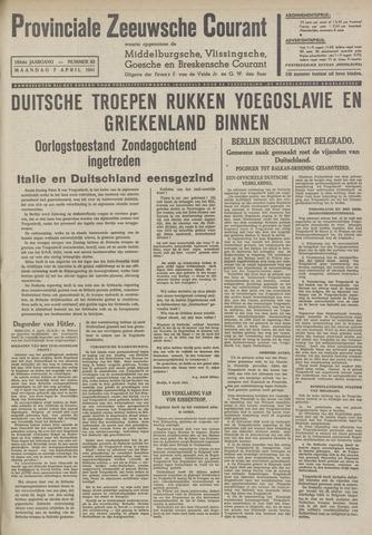 Provinciale Zeeuwse Courant 1941-04-07