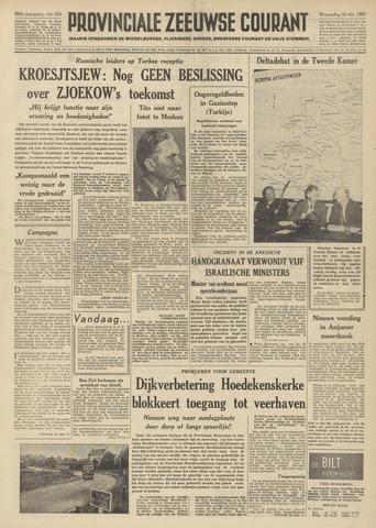 Provinciale Zeeuwse Courant 1957-10-30