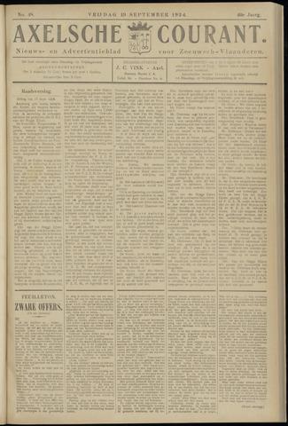 Axelsche Courant 1924-09-19