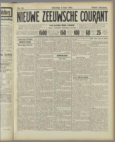 Nieuwe Zeeuwsche Courant 1914-06-06