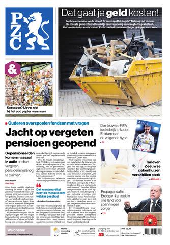 Provinciale Zeeuwse Courant 2017-09-27