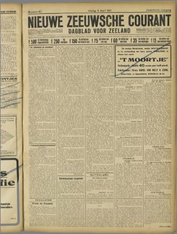 Nieuwe Zeeuwsche Courant 1921-04-08