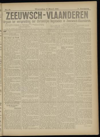 Luctor et Emergo. Antirevolutionair nieuws- en advertentieblad voor Zeeland / Zeeuwsch-Vlaanderen. Orgaan ter verspreiding van de christelijke beginselen in Zeeuwsch-Vlaanderen 1918-03-27