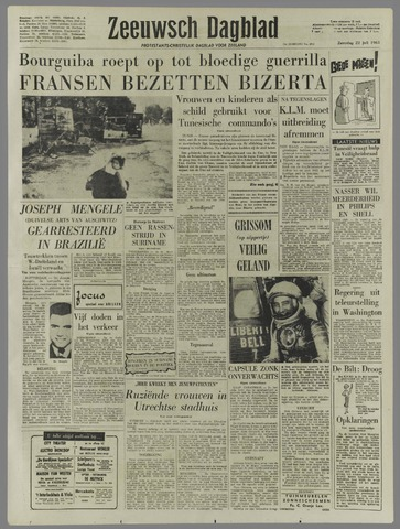 Zeeuwsch Dagblad 1961-07-22