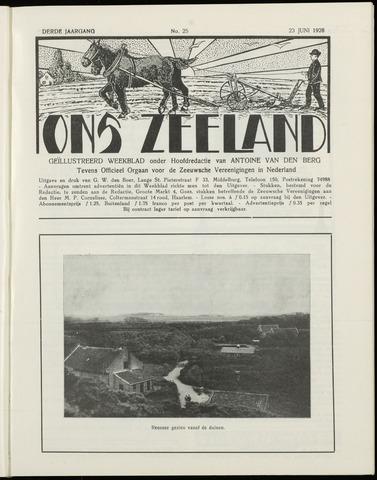 Ons Zeeland / Zeeuwsche editie 1928-06-23