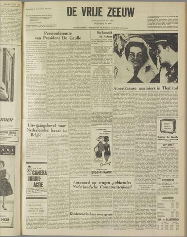 de Vrije Zeeuw 1962-05-16