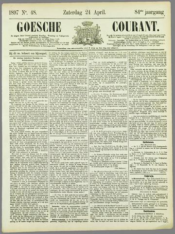 Goessche Courant 1897-04-24