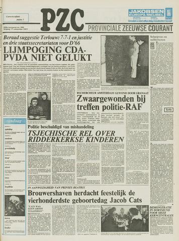 Provinciale Zeeuwse Courant 1977-11-11