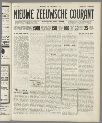 Nieuwe Zeeuwsche Courant 1913-08-26