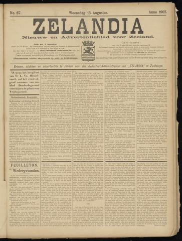 Zelandia. Nieuws-en advertentieblad voor Zeeland | edities: Het Land van Hulst en De Vier Ambachten 1902-08-13