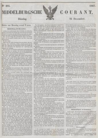 Middelburgsche Courant 1867-12-24