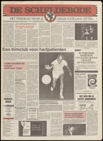 Scheldebode 1985-09-19