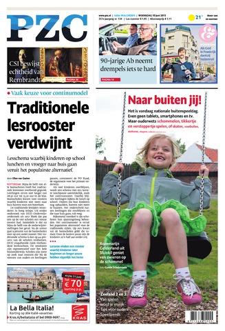 Provinciale Zeeuwse Courant 2015-06-10