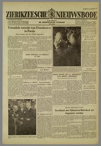 Zierikzeesche Nieuwsbode 1959-09-03