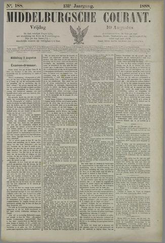 Middelburgsche Courant 1888-08-10