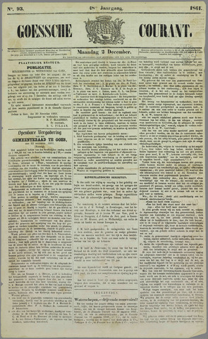 Goessche Courant 1861-12-02