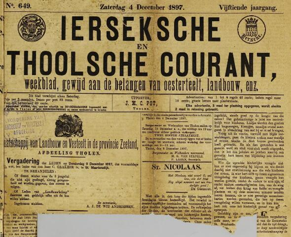 Ierseksche en Thoolsche Courant 1897-12-04