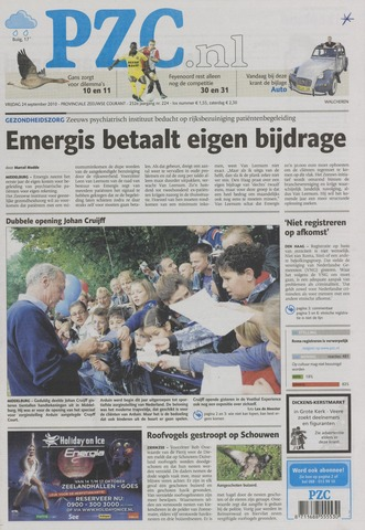 Provinciale Zeeuwse Courant 2010-09-24