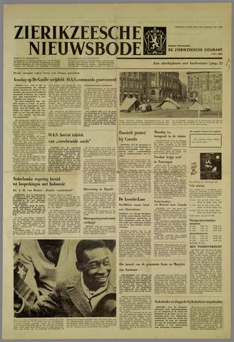Zierikzeesche Nieuwsbode 1962-06-15