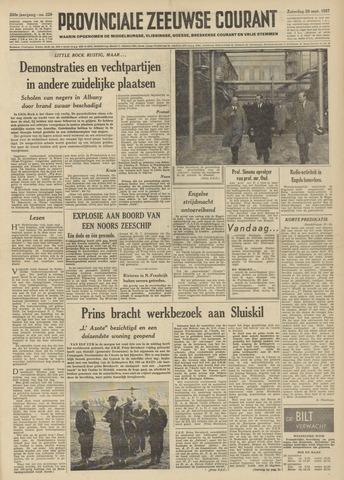Provinciale Zeeuwse Courant 1957-09-28