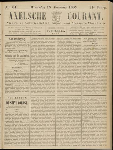 Axelsche Courant 1905-11-15