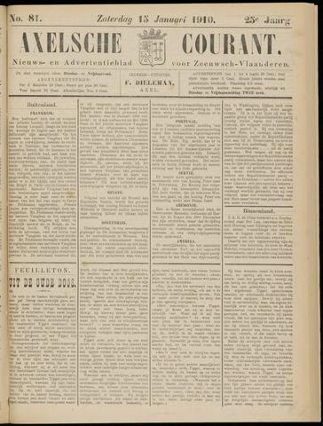 Axelsche Courant 1910-01-15