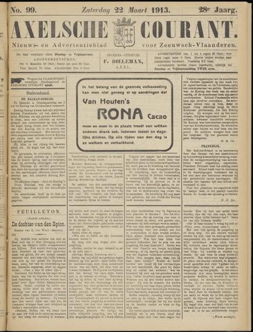 Axelsche Courant 1913-03-22