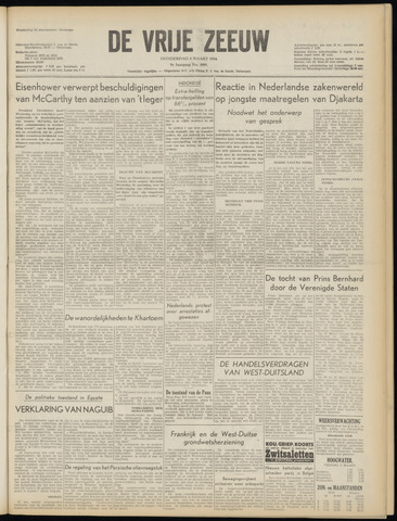 de Vrije Zeeuw 1954-03-04