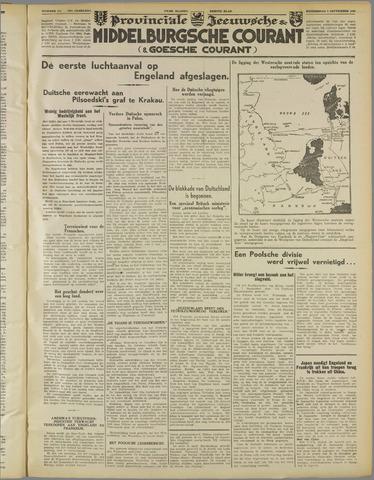 Middelburgsche Courant 1939-09-07