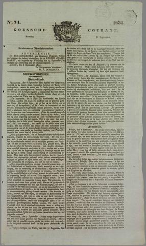 Goessche Courant 1835-09-14