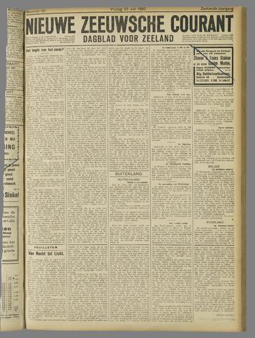 Nieuwe Zeeuwsche Courant 1920-07-23