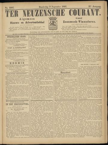 Ter Neuzensche Courant. Algemeen Nieuws- en Advertentieblad voor Zeeuwsch-Vlaanderen / Neuzensche Courant ... (idem) / (Algemeen) nieuws en advertentieblad voor Zeeuwsch-Vlaanderen 1897-09-09
