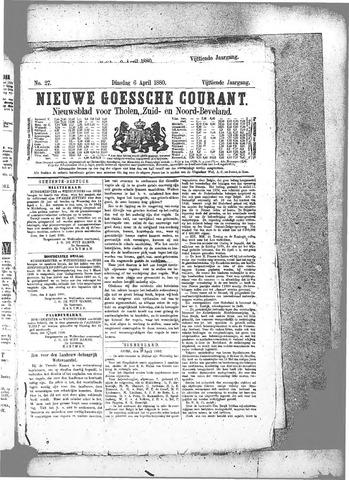 Nieuwe Goessche Courant 1880-04-06