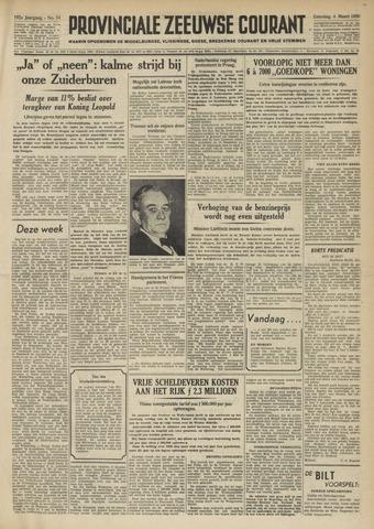 Provinciale Zeeuwse Courant 1950-03-04