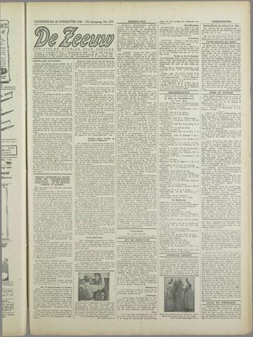 De Zeeuw. Christelijk-historisch nieuwsblad voor Zeeland 1943-08-26