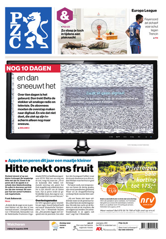 Provinciale Zeeuwse Courant 2018-08-10