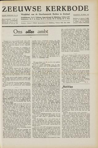 Zeeuwsche kerkbode, weekblad gewijd aan de belangen der gereformeerde kerken/ Zeeuwsch kerkblad 1951-02-16