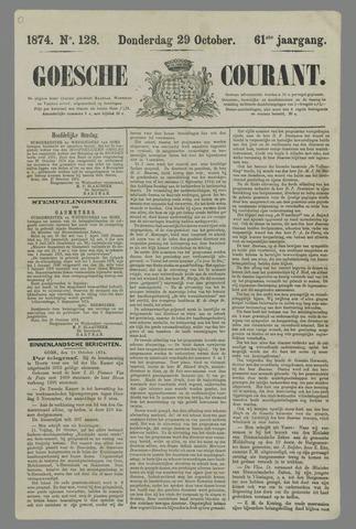 Goessche Courant 1874-10-29