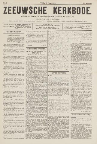 Zeeuwsche kerkbode, weekblad gewijd aan de belangen der gereformeerde kerken/ Zeeuwsch kerkblad 1936-01-31