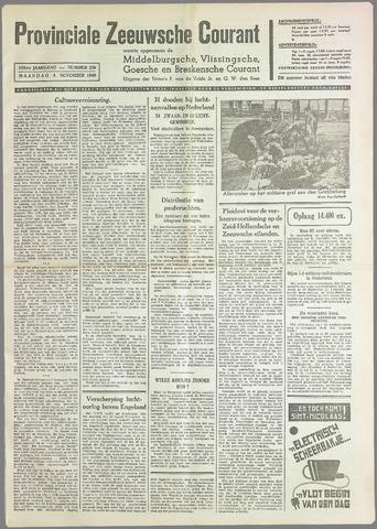 Provinciale Zeeuwse Courant 1940-11-04
