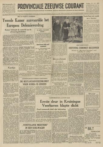 Provinciale Zeeuwse Courant 1953-07-24