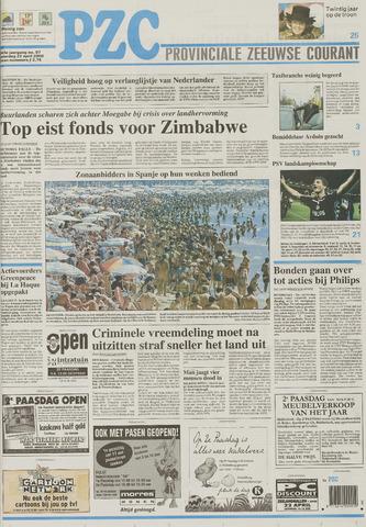Provinciale Zeeuwse Courant 2000-04-22