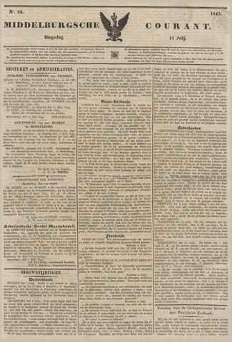 Middelburgsche Courant 1843-07-11
