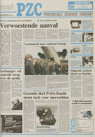Provinciale Zeeuwse Courant 1991-01-17
