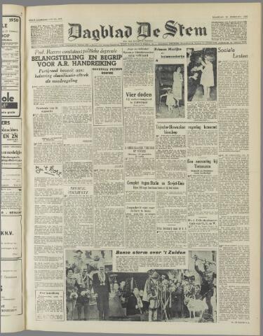 de Stem 1950-02-20