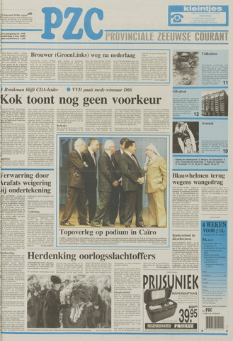 Provinciale Zeeuwse Courant 1994-05-05