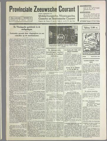 Provinciale Zeeuwse Courant 1940-07-05
