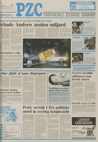 Provinciale Zeeuwse Courant 1992-08-25
